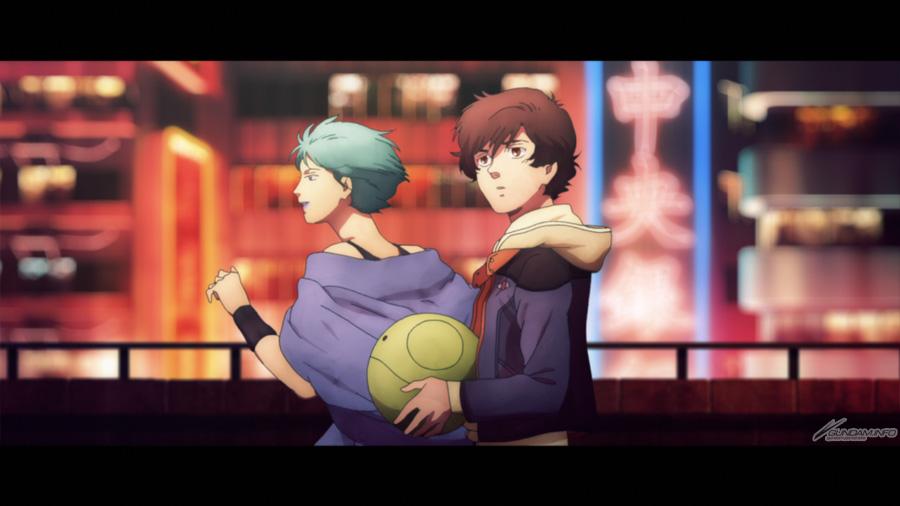 Banagher & Four Murasame(Zeta Gundam)