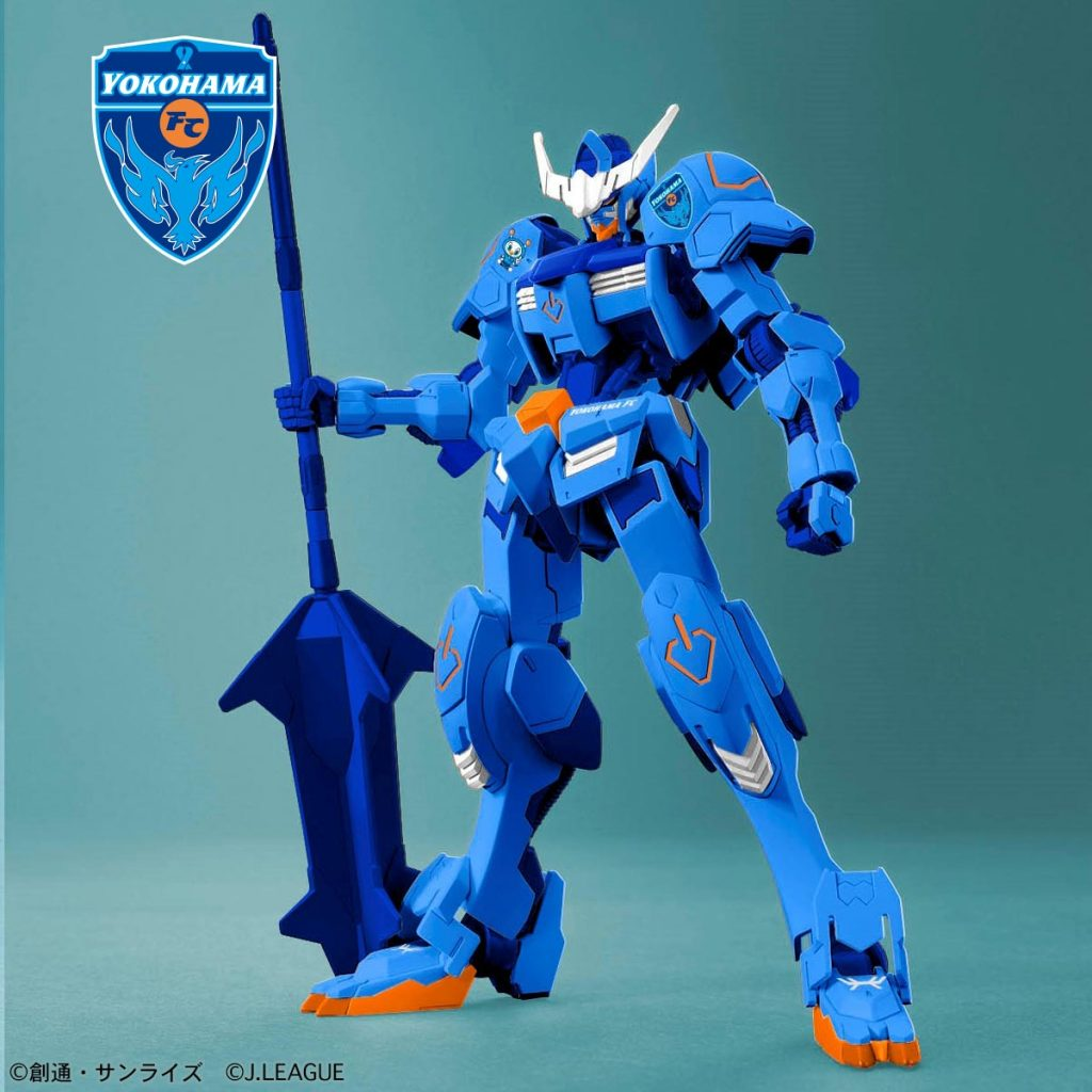 Gundam Barbatos Yokohama FC Ver.