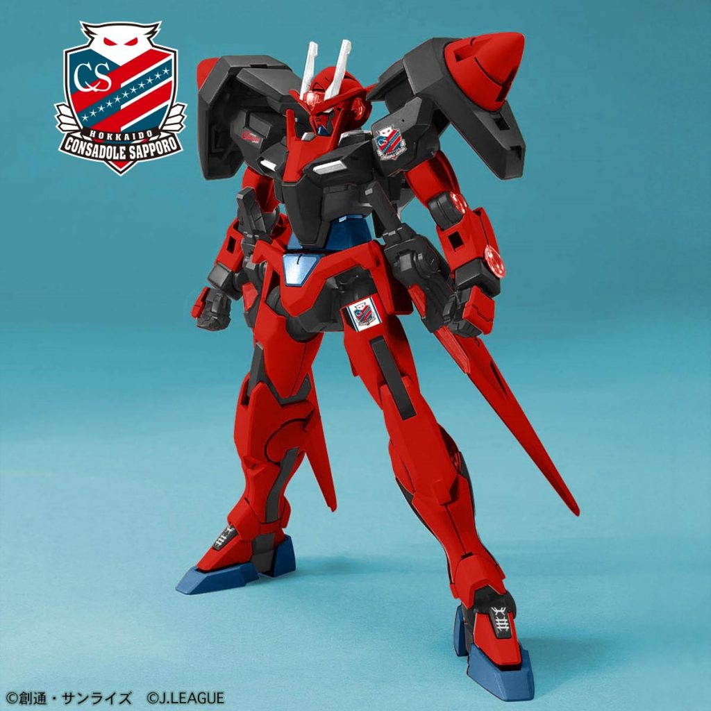 00 Gundam Hokkaido Consadole Sapporo Ver.